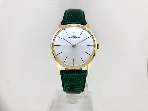 BAUME & MERCIER MECA OR18CT - 1.500€