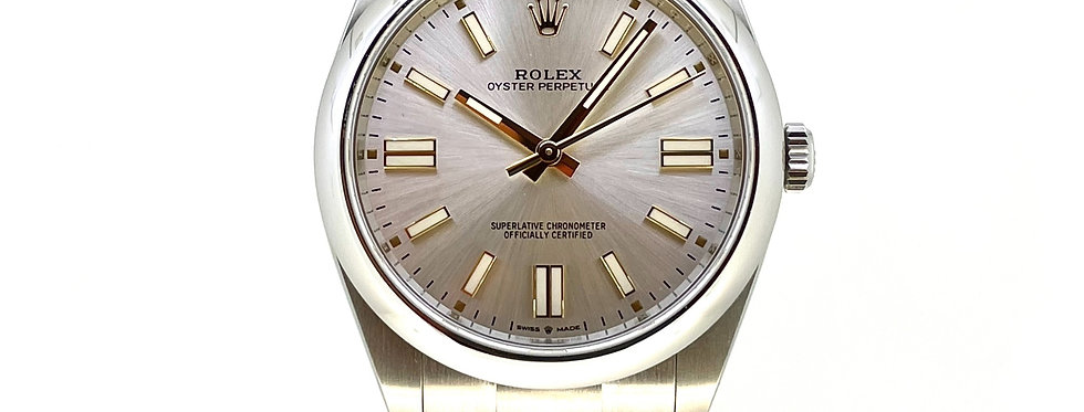 ROLEX OYSTER PERPETUAL 41 - 124300 - 7.600€