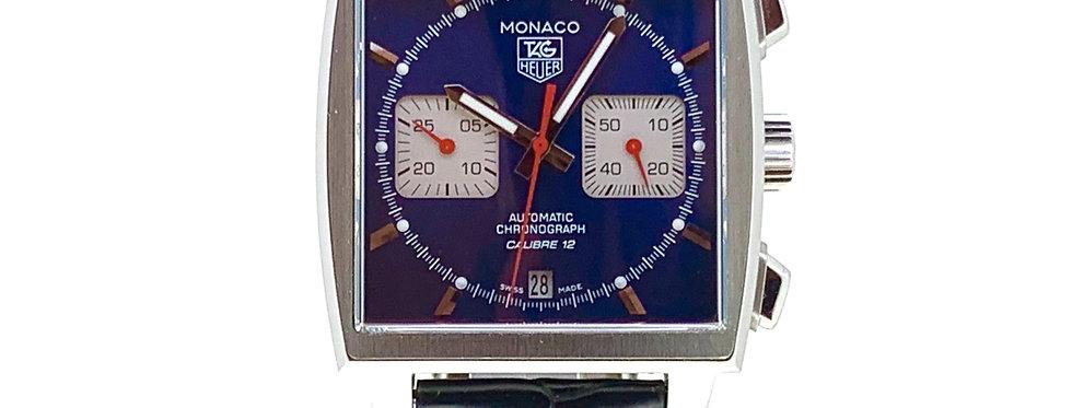 TAG HEUER MONACO BLUE DIAL - CAW2111-0 - 3.950€
