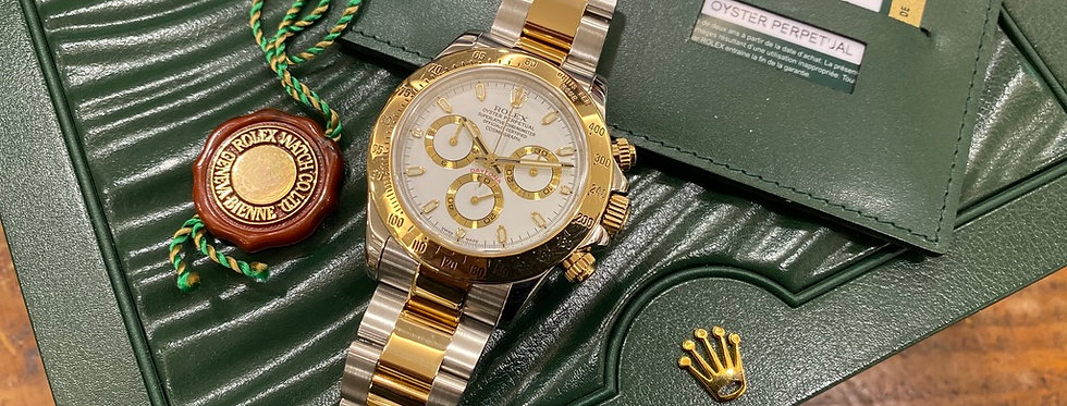 ROLEX COSMOGRAPH DAYTONA FULL SET - 116523 - 15.400€