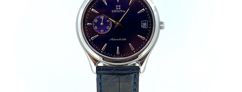 ZENITH ULTRA-THIN 680 BLUE DIAL - 2.600€