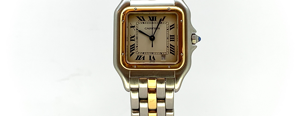 CARTIER PANTHERE STEEL&GOLD FULL SET - 3.200€