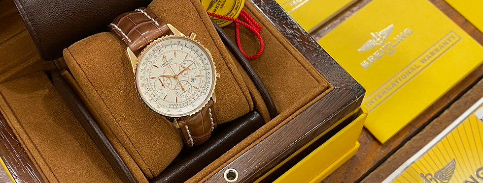 BREITLING MONTBRILLANT RED GOLD NOS - R41370 - 11.500€