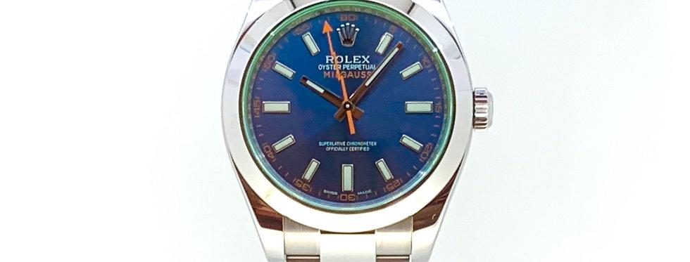 ROLEX MILGAUSS Z-BLUE - 116400GV - 8.900€