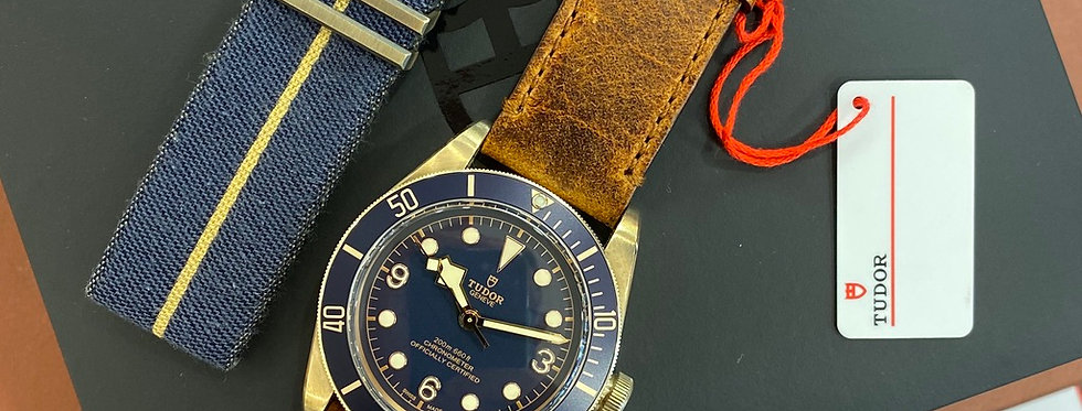 TUDOR BLACK BAY BRONZE BUCHERER - 4.300€
