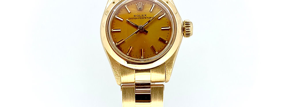 ROLEX OYSTER PERPETUAL LADY PINK GOLD - 7.200€