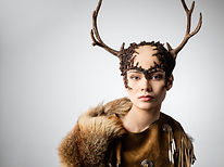 Femme avec cerf Costume