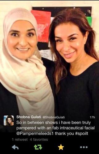 Shobna Gulati With Amara