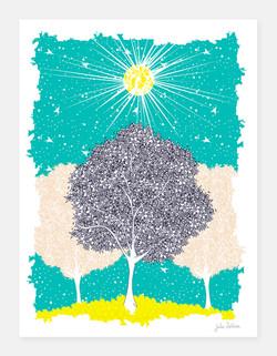 Conscience au dessus de l'arbre
