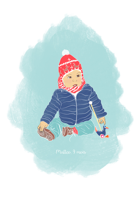 Portrait d'enfant