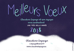Claudine Le Page - 2018