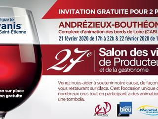 Salon de vins de Producteurs - 21/02/2020 - ANDRÉZIEUX-BOUTHÉON