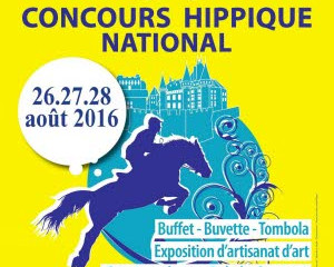 CONCOURS HIPPIQUE NATIONAL - LA CLAYETTE - 27 et 28 Août 2016