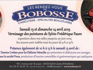 Vernissage chez Bobosse - Samedi 13 et dimanche 14 avril 2019