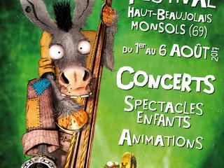 Le Cri du Col / Festival Haut-Beaujolais Monsols (69) du 1er au 6 Août 2017