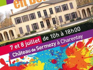Arts en Beaujolais, 7 et 8 juillet 2018- Château de Sermezy à Charentay