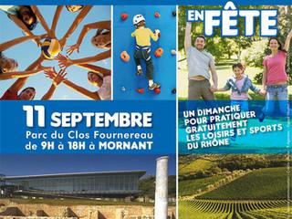 Loisir et Sport en Fête - 11 Septembre 2016 au parc du Clos Fournereau à Mornant