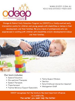 ODEEP Brochure
