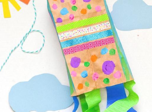 Paper Bag Kite: