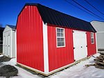 10 x 20 Metal Side Lofted Barn