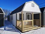 10 x 24 Urethane Lofted Barn Cabin