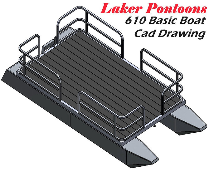 Laker 610 Basic Boat