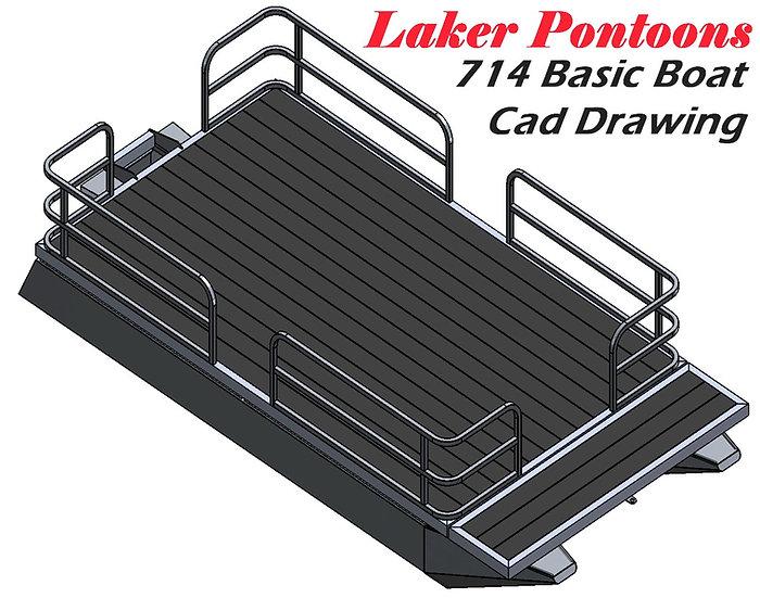 Laker 714 Basic Boat