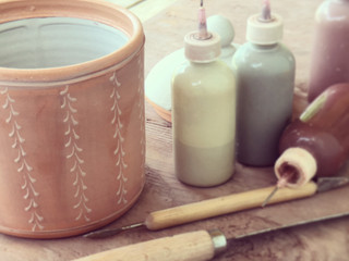 Glaze Trailing Workshop