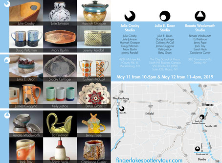 2nd Annual Finger Lakes Pottery Tour