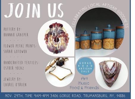 6th Annual Gorge Rd Artisan Market!