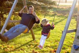 Swinging with Papa