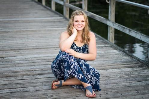 Senior Photo Outdoors