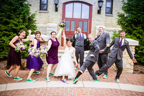 A fun filled wedding
