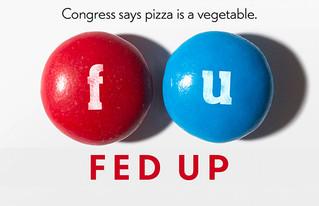 O Congresso diz: pizza é um vegetal