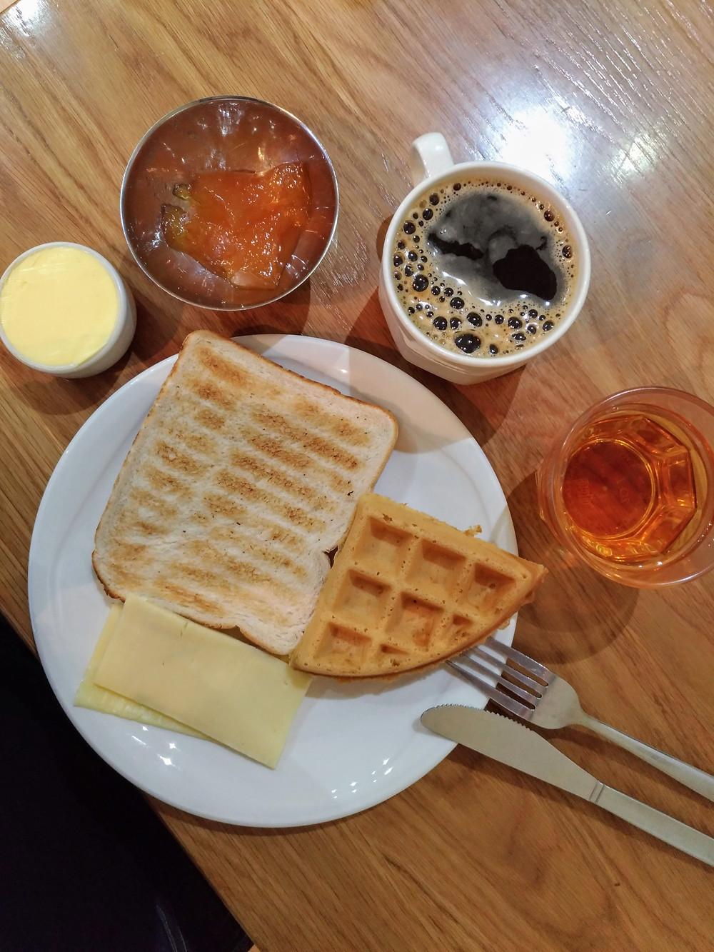 café da manhã Londres