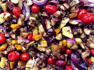 Bandeja de legumes
