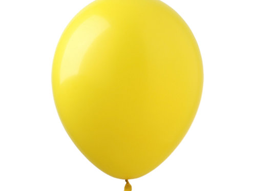 """Bexiga latex pastel 9"""" - amarelo"""