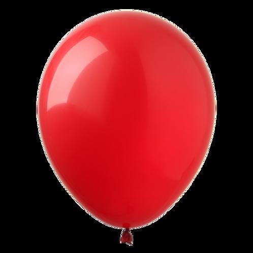 Bexiga latex - vermelho 50 unidades
