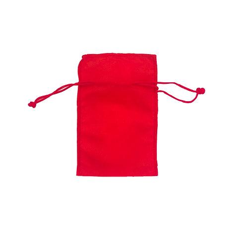 Saquinho tnt 10x15 - vermelho