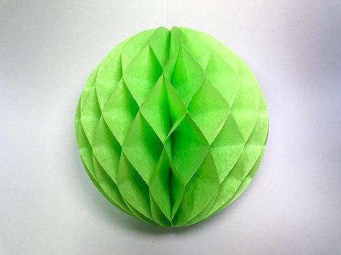 Pom pom colméia 25cm - verde