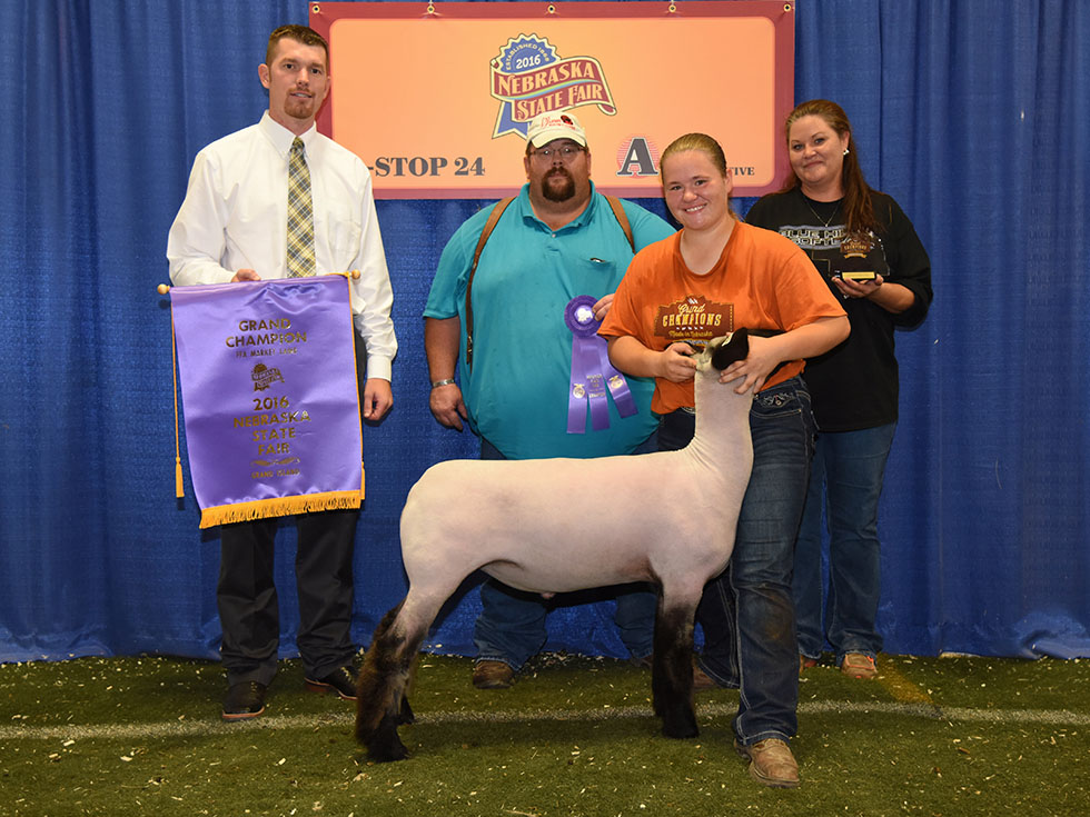 2016 Nebraska State Fair FFA Champ