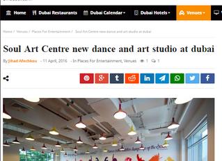 Soul Art Centre new dance and art studio at dubai
