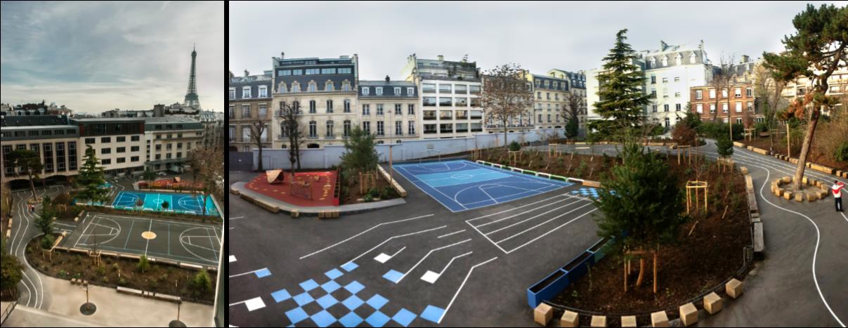 Cours d'Ecole à Paris