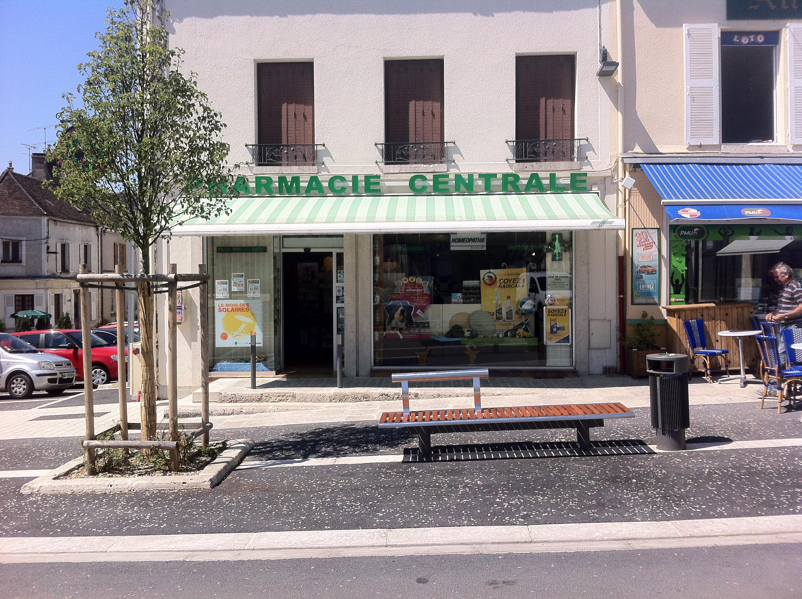 Détail mobilier urbain