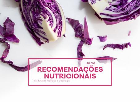 Recomendações nutricionais para pacientes com câncer de mama