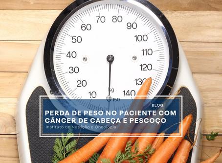 Perda de peso no paciente com câncer de cabeça e pescoço