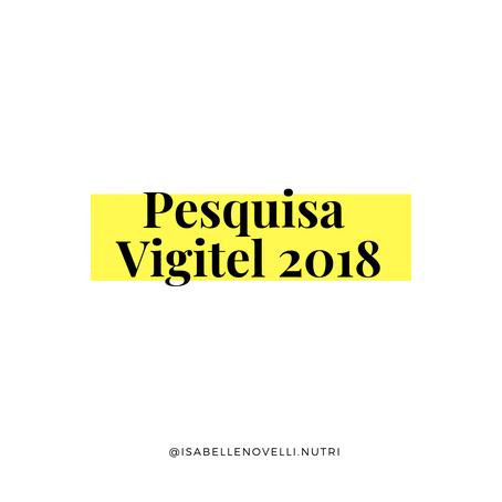 Vigitel 2018