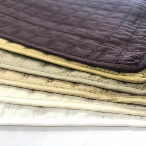 Quilted Mondrian Pillow Shams