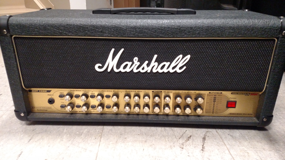 Marshall AVT150 output module replacement