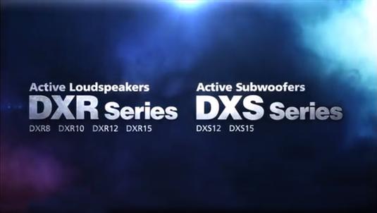 Yamaha DXR Series Active Loudspeakers and DXS Series Active Subwoofers
